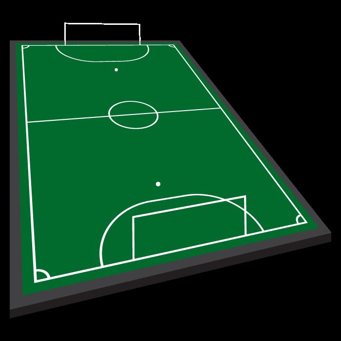 Iluminación de una cancha de fútbol 5 para entrenamiento o recreación